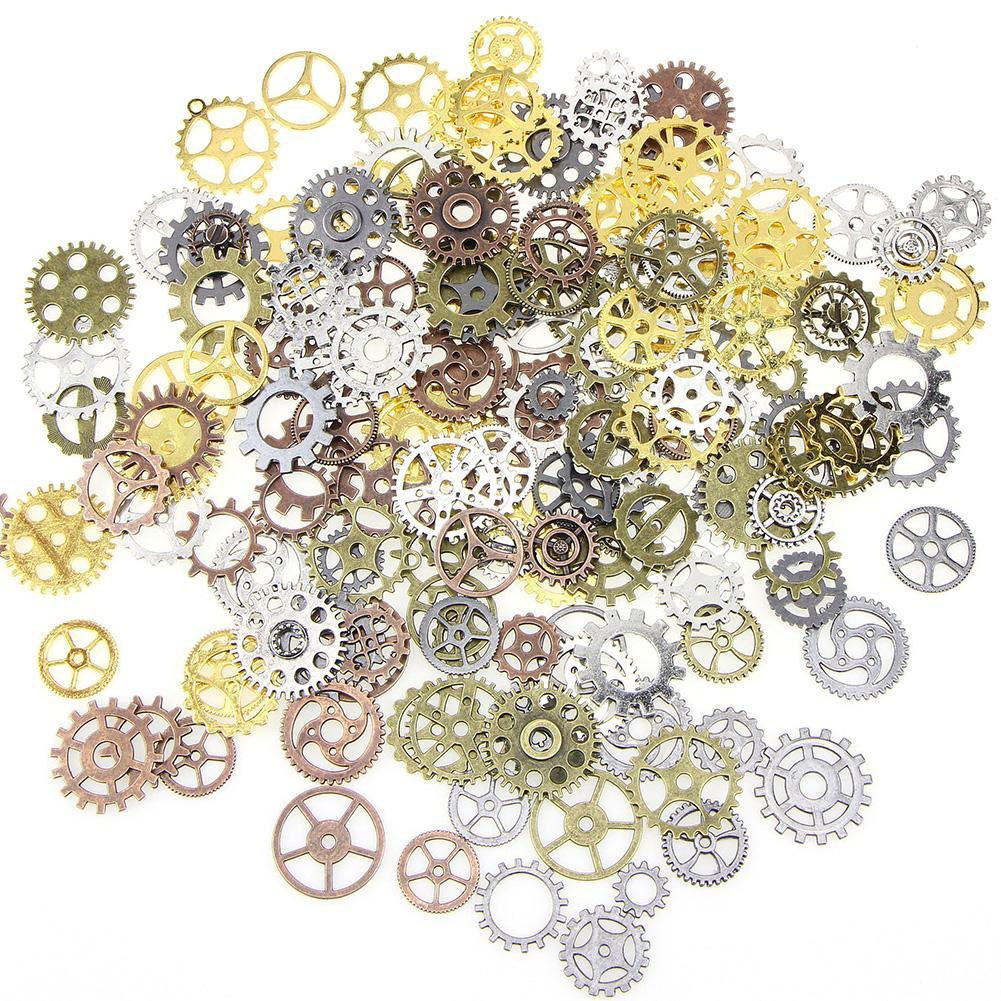 1 Lot Bracelet Accessoires Mix alliage vitesse mécanique de bricolage Cogs Steampunk