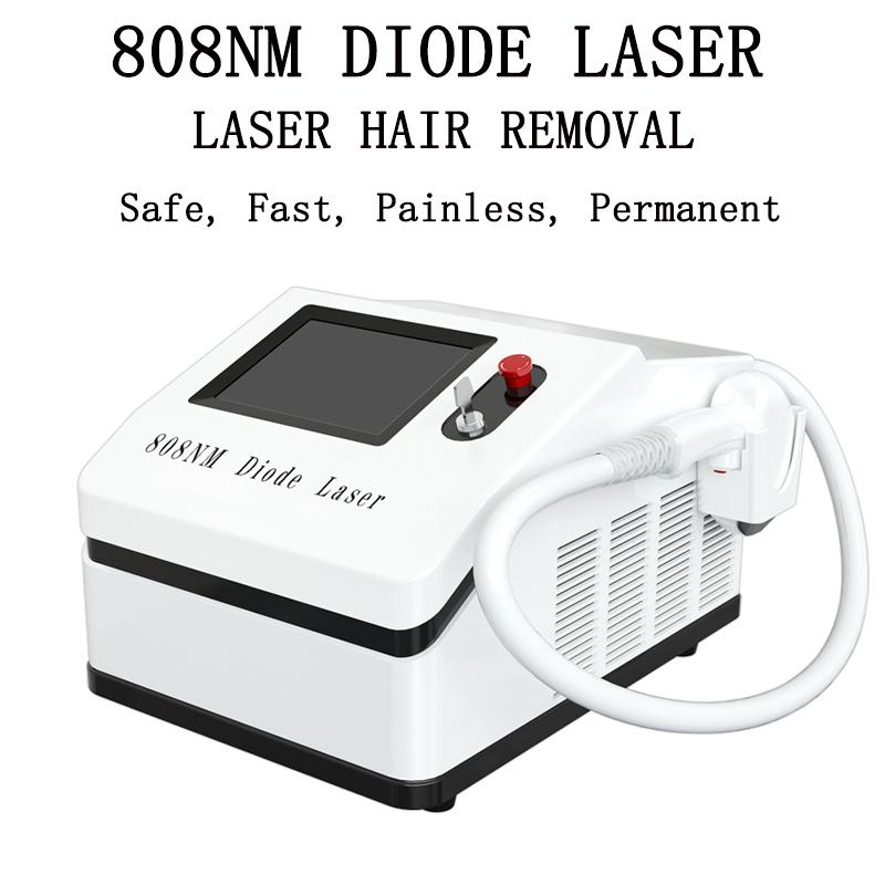 808nm Laser Laser Depilazione laser Depilazione indolore 808nm diodo Laser Super Deposito di depilazione per salone