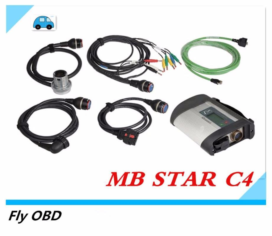 2020 star C4 Diagnose for mb star C4 MB SD Connect for Cars&Trucks Diagnostic Tool Scanner with HDD