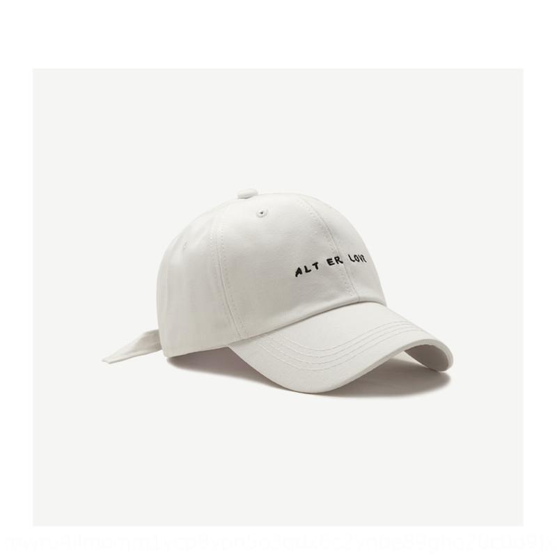 küçük harf İşlemeli beysbol şapkası yönlü SYjKZ Şapka kadın bahar ve yaz basit işlemeli beyzbol şapkası erkek Koreli moda
