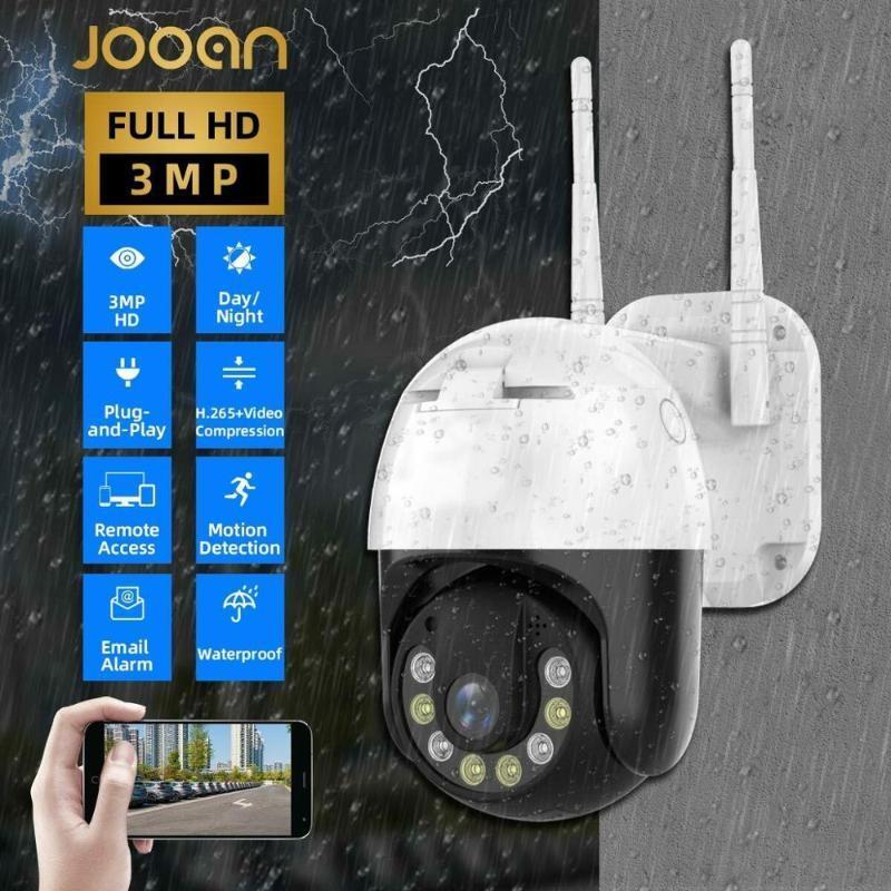 3МП PTZ IP камеры Wifi Открытого Speed Dome Беспроводной Wi-Fi камера безопасность телеметрия 4-кратный цифровой зум сеть видеонаблюдение