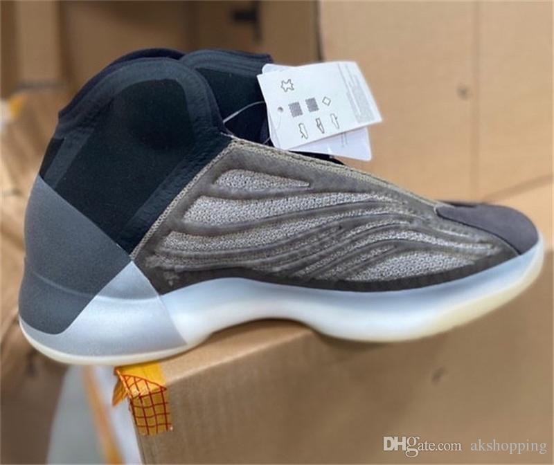 Горячий Аутентичный QNTM Барий H68771 Баскетбол обувь Мужчины Женщина Quantum Kanye West Wave Runner All-Star Кроссовки Кроссовки с оригинальной коробкой