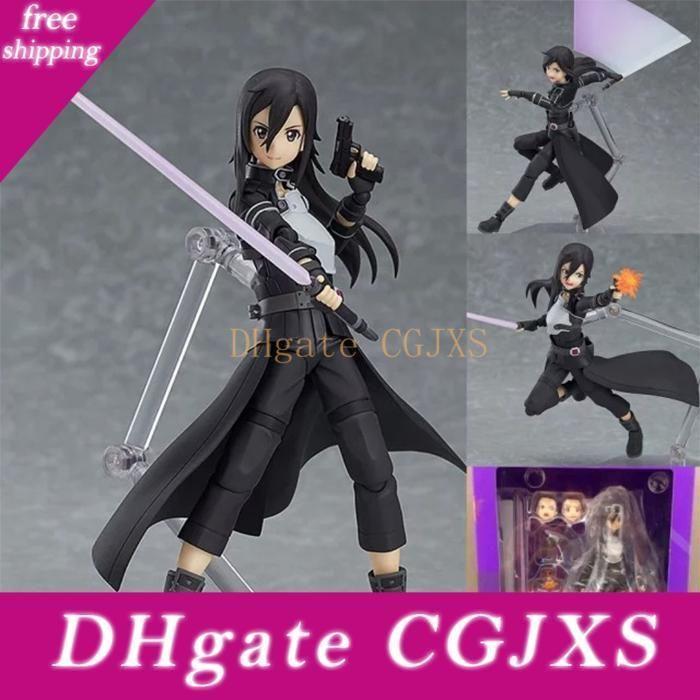 Popular Anime Sword Art Online Figure Figme174 Kirito /178 Asuna /248 Tongzi Movable Action Figure Ornaments Dolls
