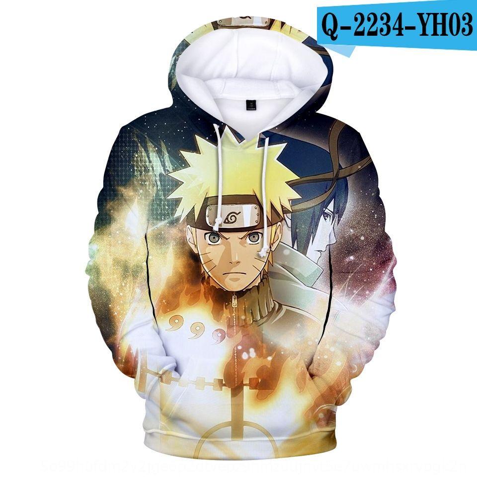 Riman Naruto circostante felpe con cappuccio di stampa 3D Riman Naruto circostanti con cappuccio digitale 3D felpe con cappuccio stampa digitale