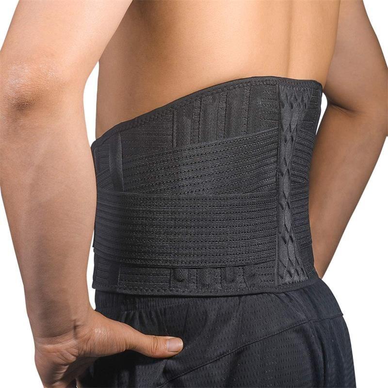 Поясничный подушки вентиляции Belt поддержка талии поясничной грыжи диска пояснично-крестцовый радикулит сколиоза немедленного облегчения боли сетки вентиляции