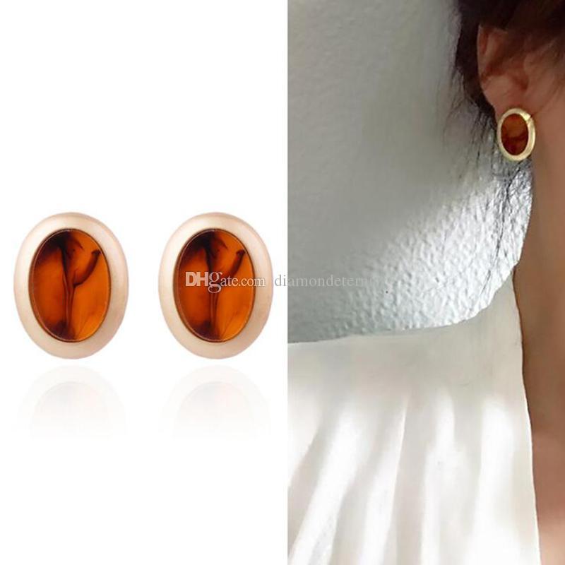 Vintage Big Stud orecchini per le donne Boucle d'oreille all'ingrosso dei monili dell'orecchino di modo Retro Classic brincos gioielli