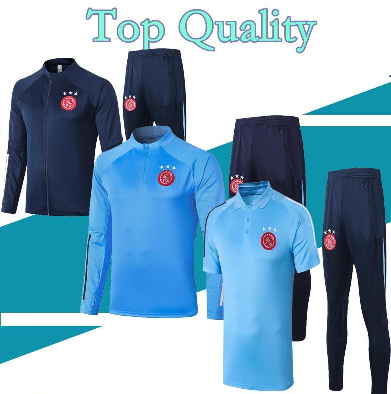 S-XXL 2020 2021 Ajax FC camiseta de fútbol para adultos chándal traje 20 21 Formación Ajax camisa ZIYECH TADIC maillot de fútbol juego de pista de los hombres