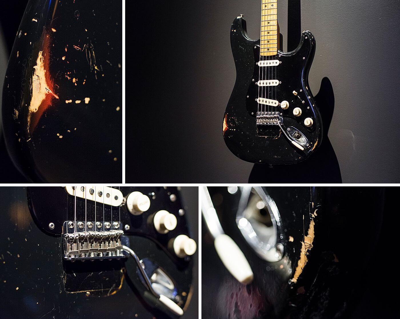 Chitarra elettrica di qualità Custom Aged / Relic DavidGuilmur Chitarra