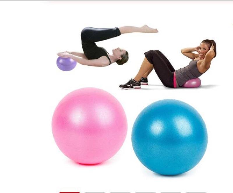 25cm Mini Fitness équilibre Yoga balle Sport Balles boule de massage équilibre yoga anti-pression ball Salle de gym Accueil Formation