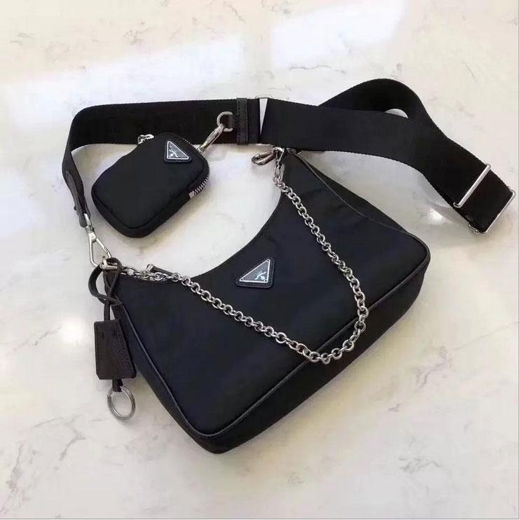 Nylon cloth hobo for women shoulder bag multi-role women Chest pack lady Tote chains handbags presbyopic purse messenger bag handbags canvas
