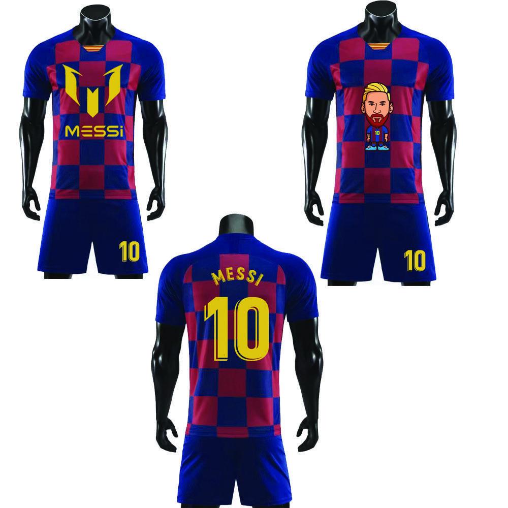 2020 MESSI 10-T-Shirt Short DIY fertigen Log IHN KIND Jungen-Mädchen-T-Shirt Hip Hop Kurzarm T-Shirt Männer für Fans Shirt CX200819