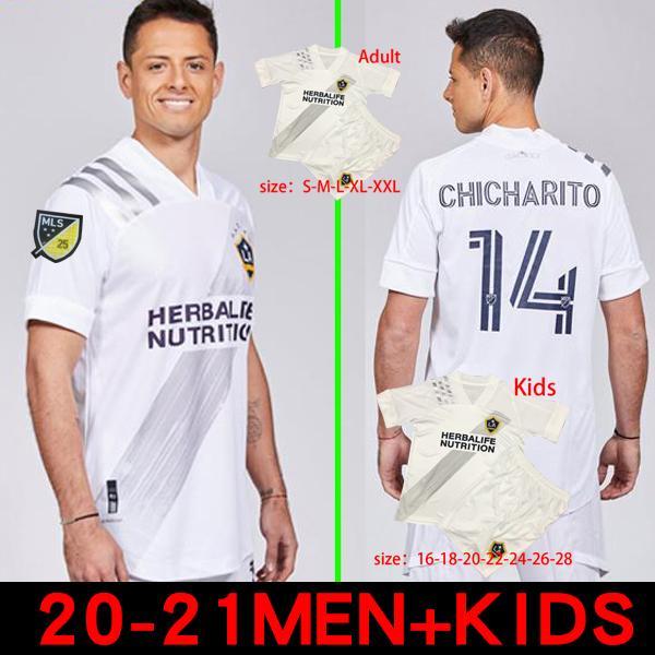 20 21 21 La Galaxy Soccer Jerseys Los Angeles Galaxy Chicharito J.Dos Santos Pavon 20 21 Fußballmänner und Kinderhemden