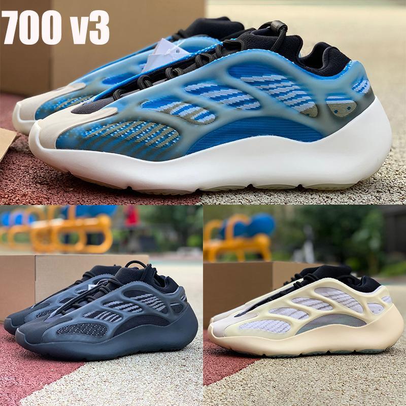 Nueva Azarath Kanye 700 V3 zapatos para correr Azael Alvah OG srphym hombre reflectantes zapatillas de deporte de las mujeres de los entrenadores con la caja US 5-11