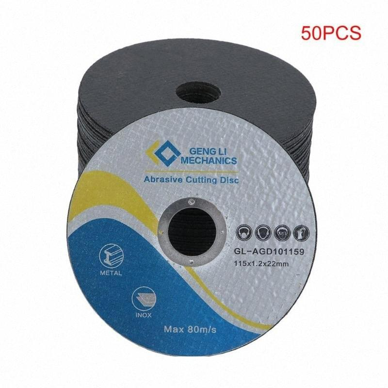 50pcs Metall Trennscheibe Trennscheibe Winkelschleifer Rad Schleifen Schleifscheiben Schleifblatt für Metall Stahl Q2Wg #