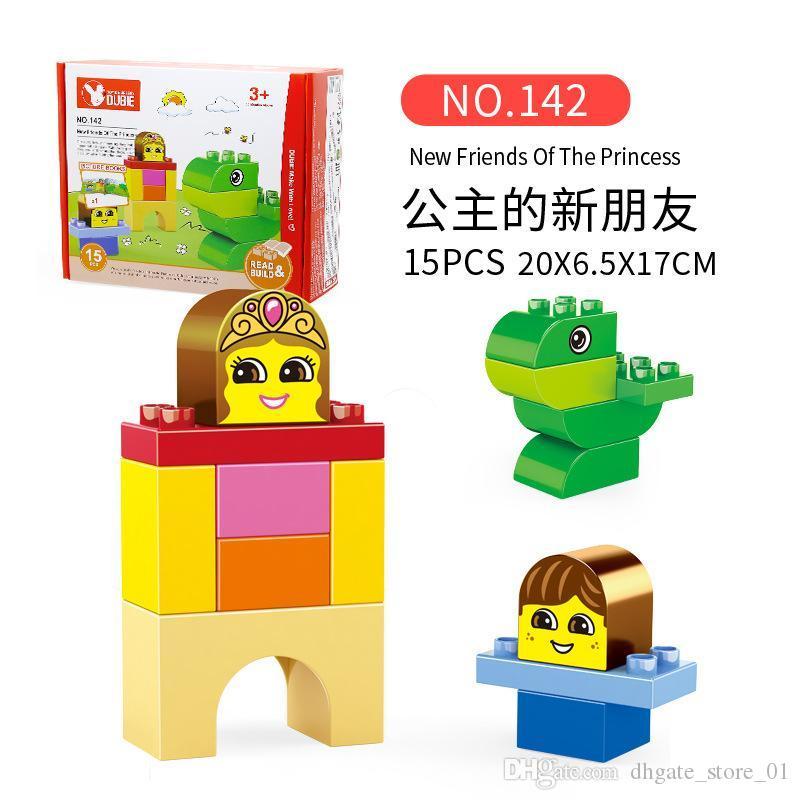 Primeiros Crianças Technic Blocos Tijolos criativa Montagem Animais Diy Brinquedos Modelo For Kids Intelligence presente 04