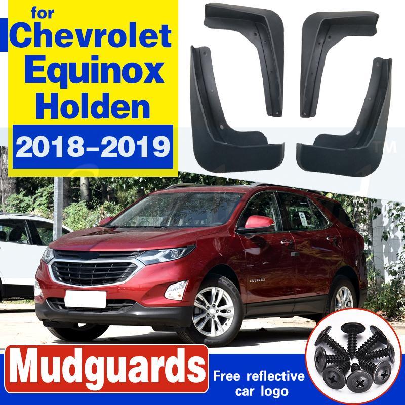 Avant et arrière de voiture Bavette pour Chevrolet Equinox Holden 2018 2019 Gen Fender boue 3th Rabats Splash Guard Flap Accessoires Garde-boue