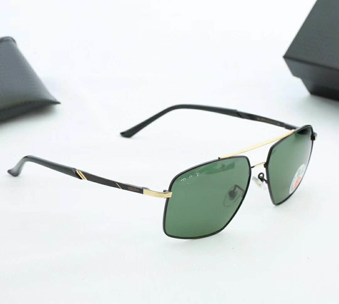 2020 Fashion Ray Hombres Mujeres para mujer Gafas de sol Redondo Plaza de sol Gafas UV Protección UV Lentes polarizadas de vidrio con estuche de cuero BANS 65DAS05EC #