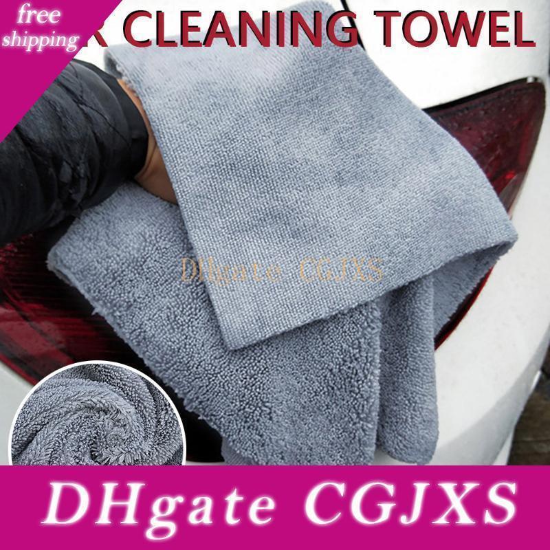 Car Styling largo y pelo corto lavado del coche toalla de agua Absorción de limpieza de toallas de tela Automotive Care Limpieza