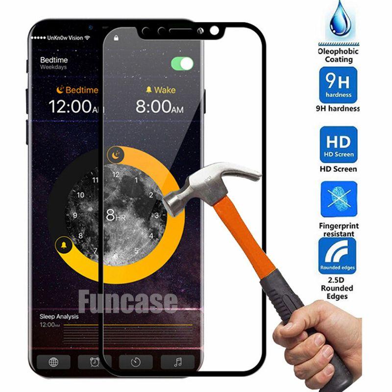 Esplosione 3D curvo in fibra di carbonio a tutto schermo in vetro temperato Protector Flim Guard per iPhone 12 Mini 11 Pro Max XS XR X 8 7 6 6S Plus SE 2020