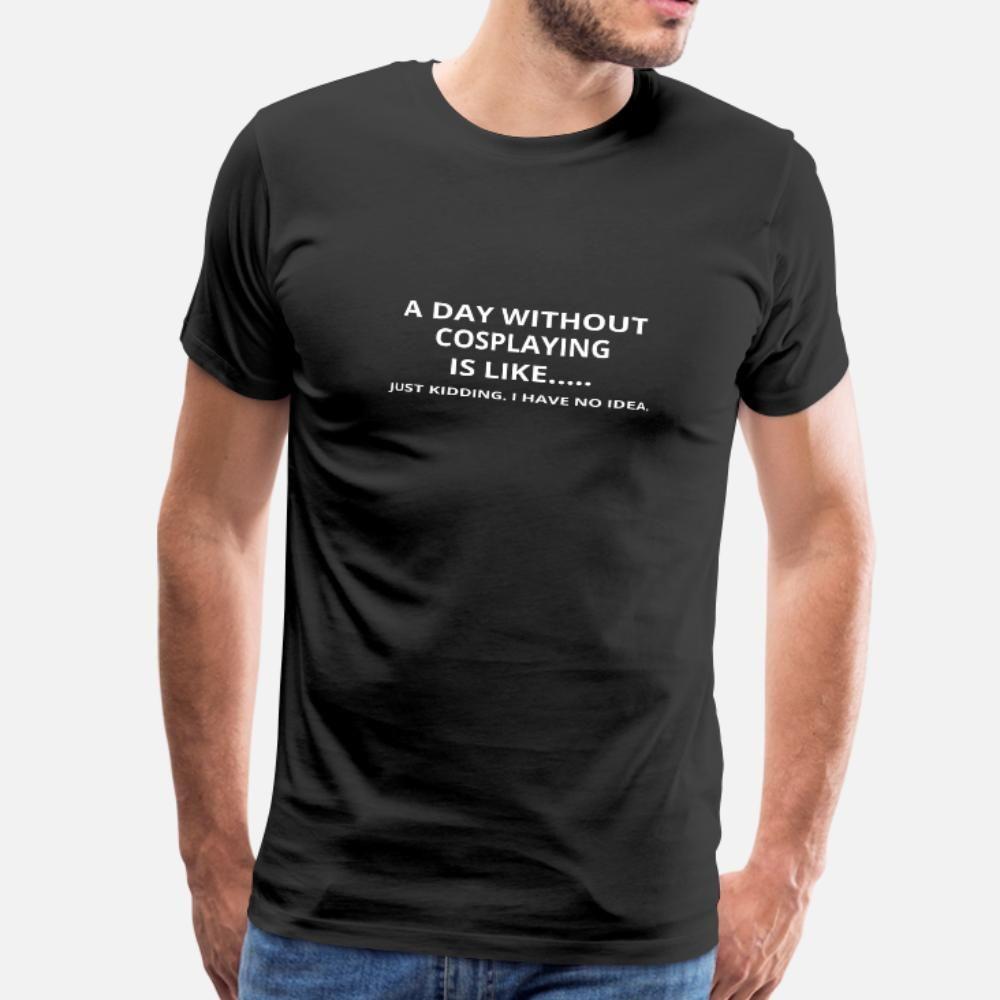 Journée sans cadeau Geschenk amour cosplaying t shirt homme Imprimer T-shirt O-Neck homme cadeau Casual Printemps shirt original