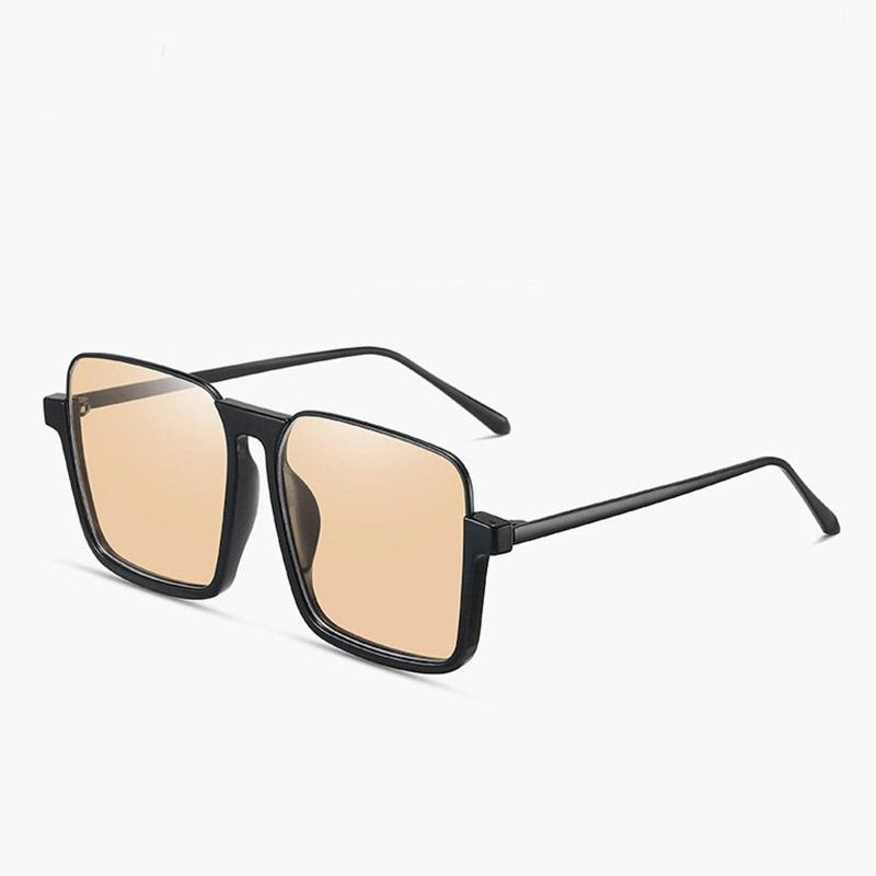 2020 Nouveau Trendy Lunettes de soleil carrées Femmes Hommes Designer Shades vintgae demi-cadre Lunettes de soleil unisexe Punk UV400