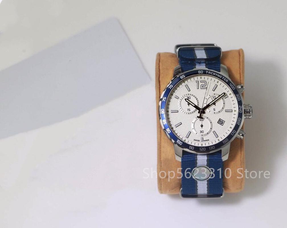 Pareja romántica multifunción luminosa mira el cristal de cuarzo reloj de pulsera reloj de lona color a juego de reloj calendario de los hombres de lujo