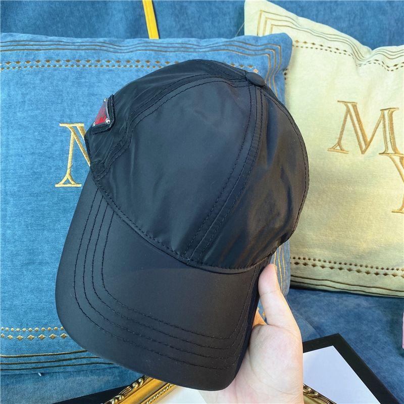 béisbol hogar alto de la lona de sol de béisbol versión de la calidad sombrero del sol del casquillo invertido triángulo Negro Estrella ins celebridad de Internet misma sombrilla ca