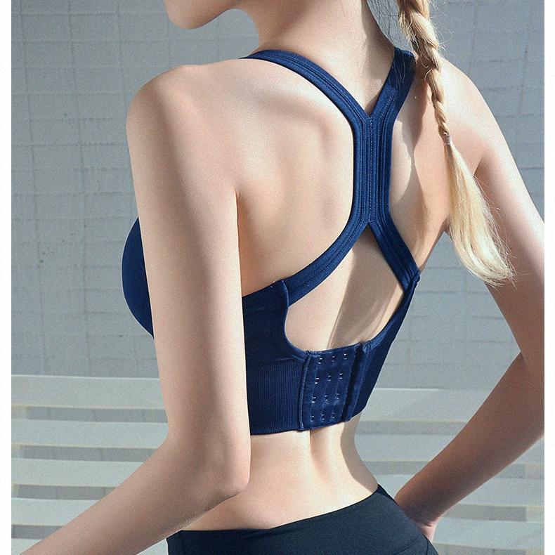 Femmes sans couture Soutien-gorge sport Workout Femme Sport Top Crop Fitness Active Wear Pour Yoga Gym Brassiere femmes Vêtements de sport kPIj de #