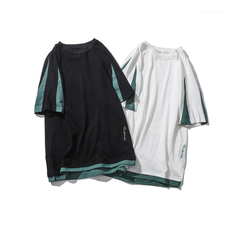 Crew-Hals-T-Shirts Lose Casual Herren-Kleidung Herren Designer T-shirts Modebrief Bedruckte Raglan-Ärmeln