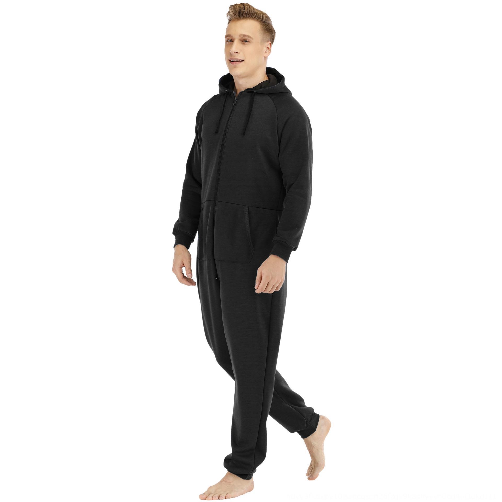 suéter mono ropa para el hogar desgaste mono engrosada Hombres de wZ0xU hombres de la carrocería se espesó casa suéter