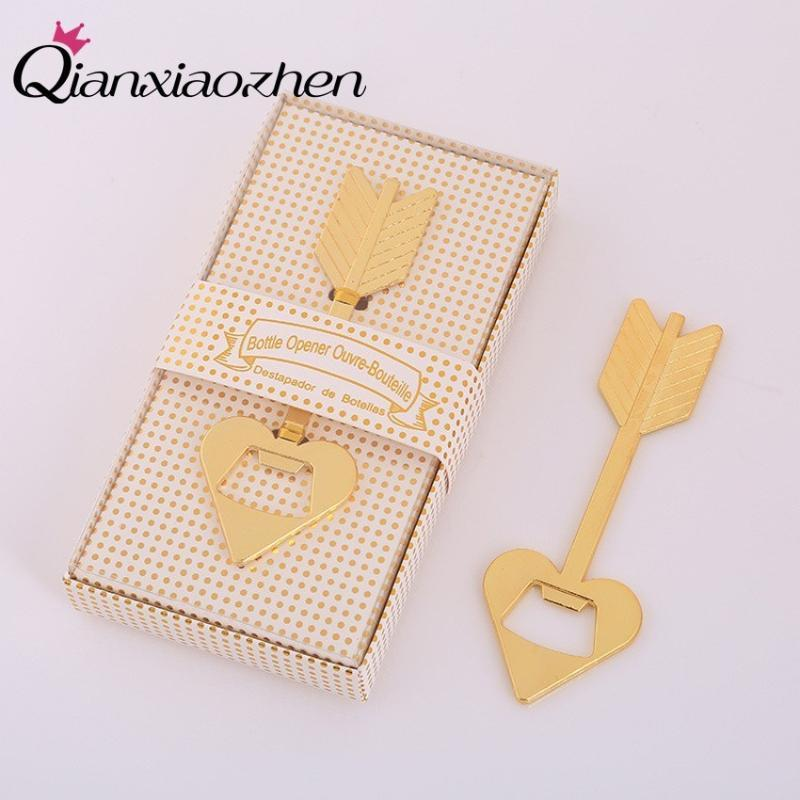 Party Favor Qianxiaozhen 10pcs Cupid Arrow Bottle Opener Wedding Favors And Gifts For Guests Souvenirs Supplies