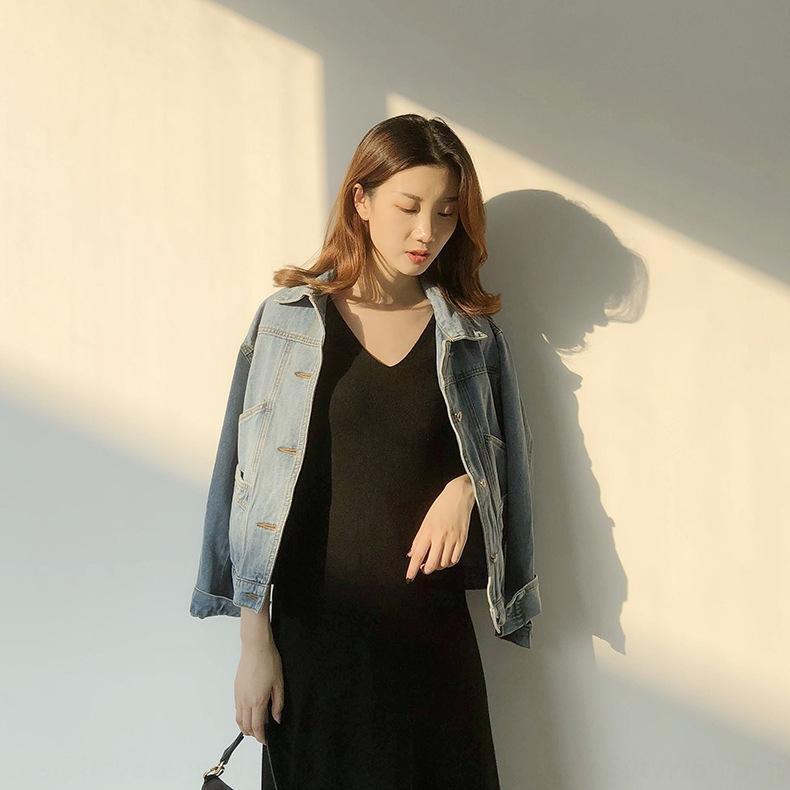 bJ4XF мульти-карман Ming 2020 Весна куртки осень короткие джинсовые и женщин Корейский стиль Ge куртка весна пальто N793C