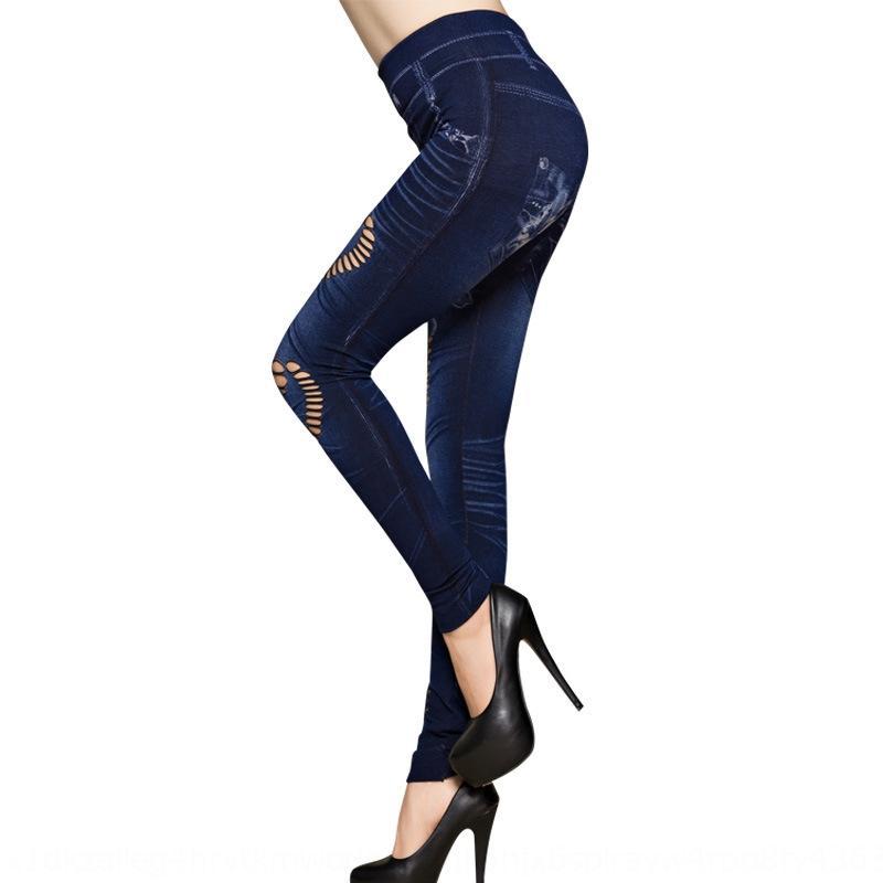 Grande extensão em forma de coração leggings jeans grande extensão em forma de coração oco-out denim calças apertadas das mulheres ocos-out das mulheres apertado perna da calça