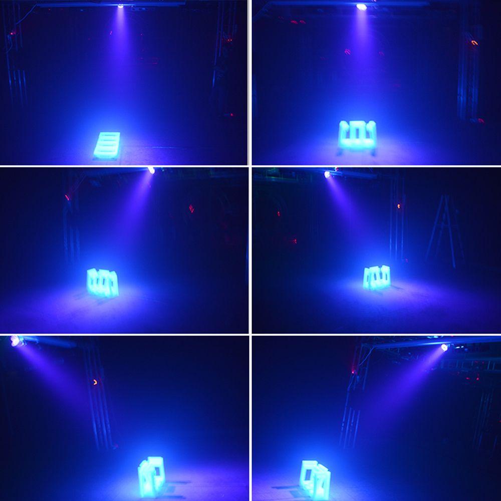 18x3W RGBW LED Light Stage Luz Com DMX 512 Disco DJ Projector Máquina Partido DECORAÇÃO LIMPEZA DA TELA