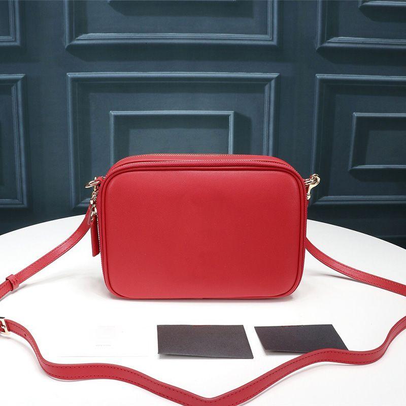 Fashion Bags Camera Logo Crossbody Smooth Leather Double Zip Bag Bag Wallet Camera Designer Women Mini Luxury Designer Bags Purses Ppjco
