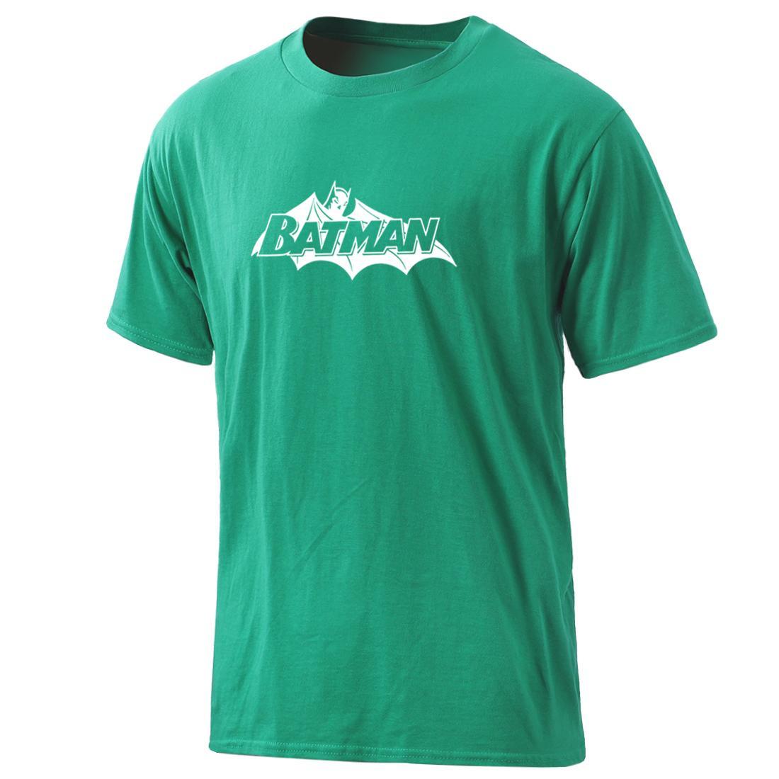 Mens Super Hero Hip Hop aus 100% Baumwoll-T-Shirts 2020 Kurzschluss-Hülse Freizeit Bekleidung Sommer Tops O-Ansatz Freizeit männlich Gelegenheits Homme