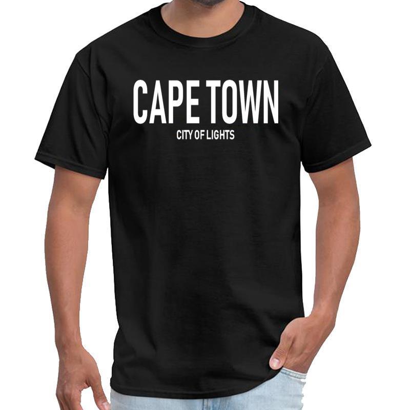 Impreso Ciudad del Cabo - Ciudad de la Luz - Sudáfrica camisa masculina xxxtentacion xxtentacion femenina camiseta más el tamaño de s-5XL hiphop