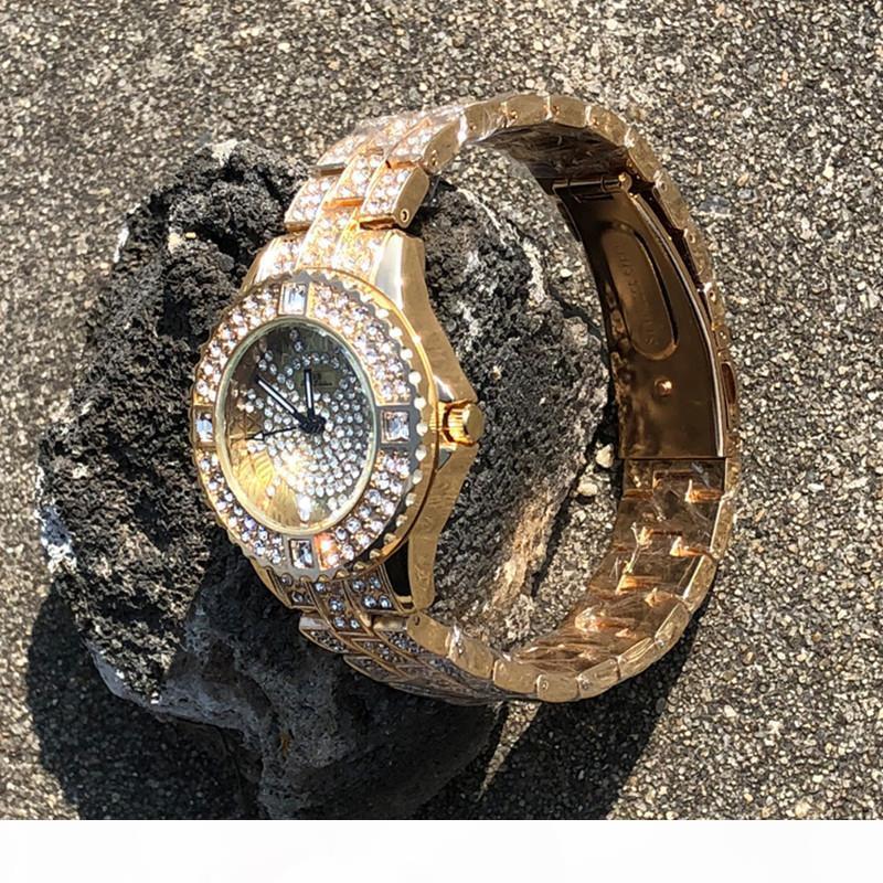 Vendita calda 2018 donne orologi da donna orologio di lusso del diamante di modo Abito orologio vigilanza di alta qualità da polso orologi al quarzo orologio da polso libero