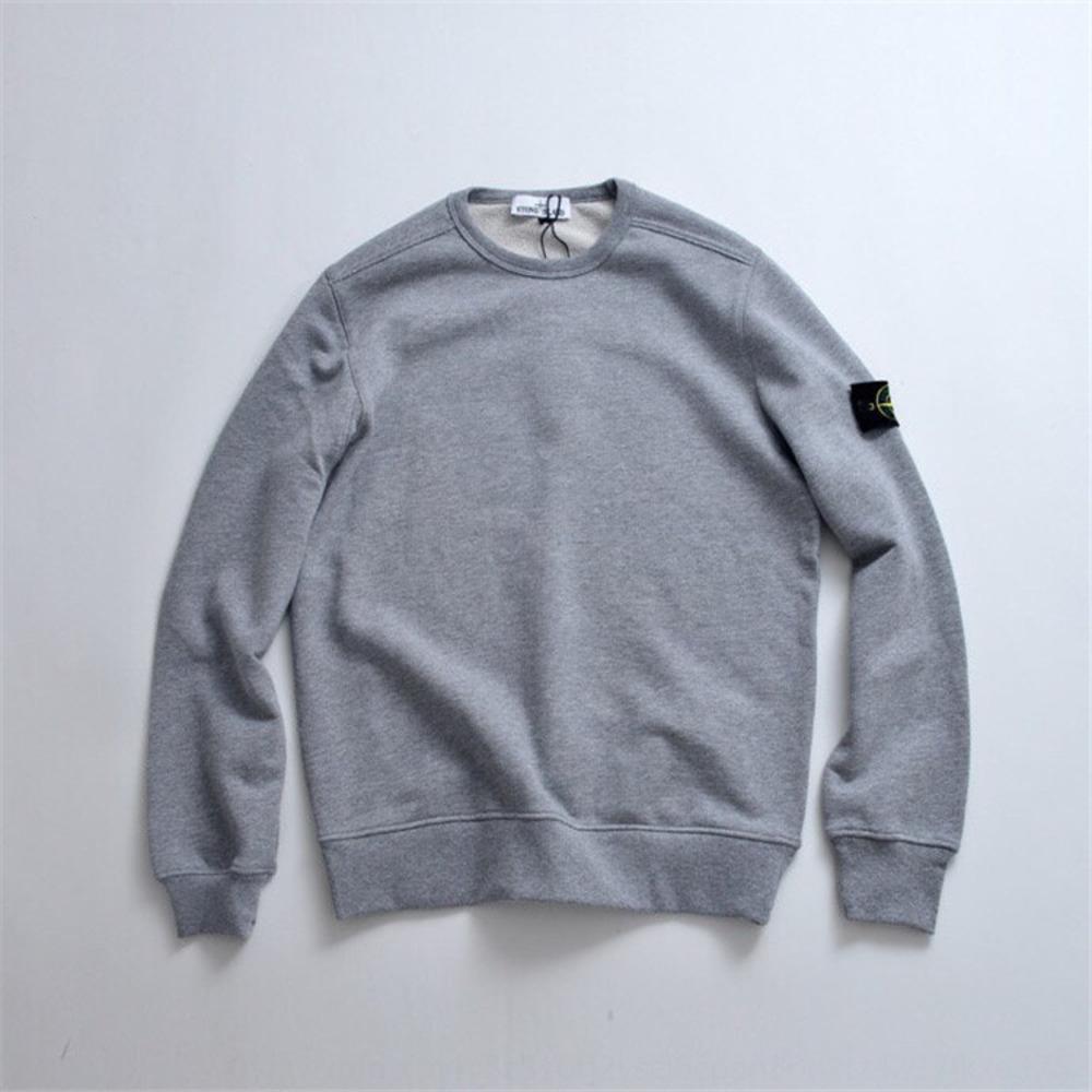 pietra isl maglione del pullover girocollo in pietra del pullover di marca di moda isl utensili di base maglione uomini coppia e femminile