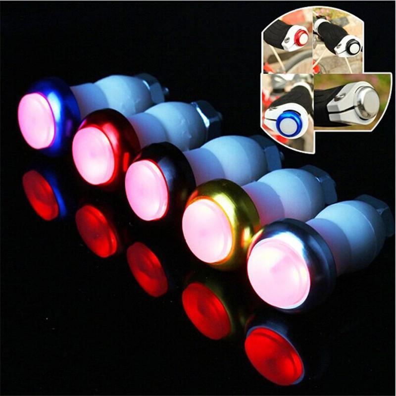 Bike Lights 2021 Arrivo 1 Pair Sicurezza Cycling Turno Segnale Maniglia barra End Plug LED Lampada da luce rossa F20