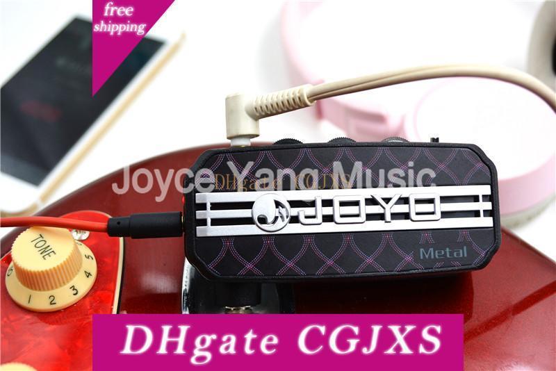 Joyo Ja -03 mini bolsillo amplificador de guitarra de 6 Efecto de metales / plomo / Inglés Canal / Super Lead / tubo de accionamiento / acústica