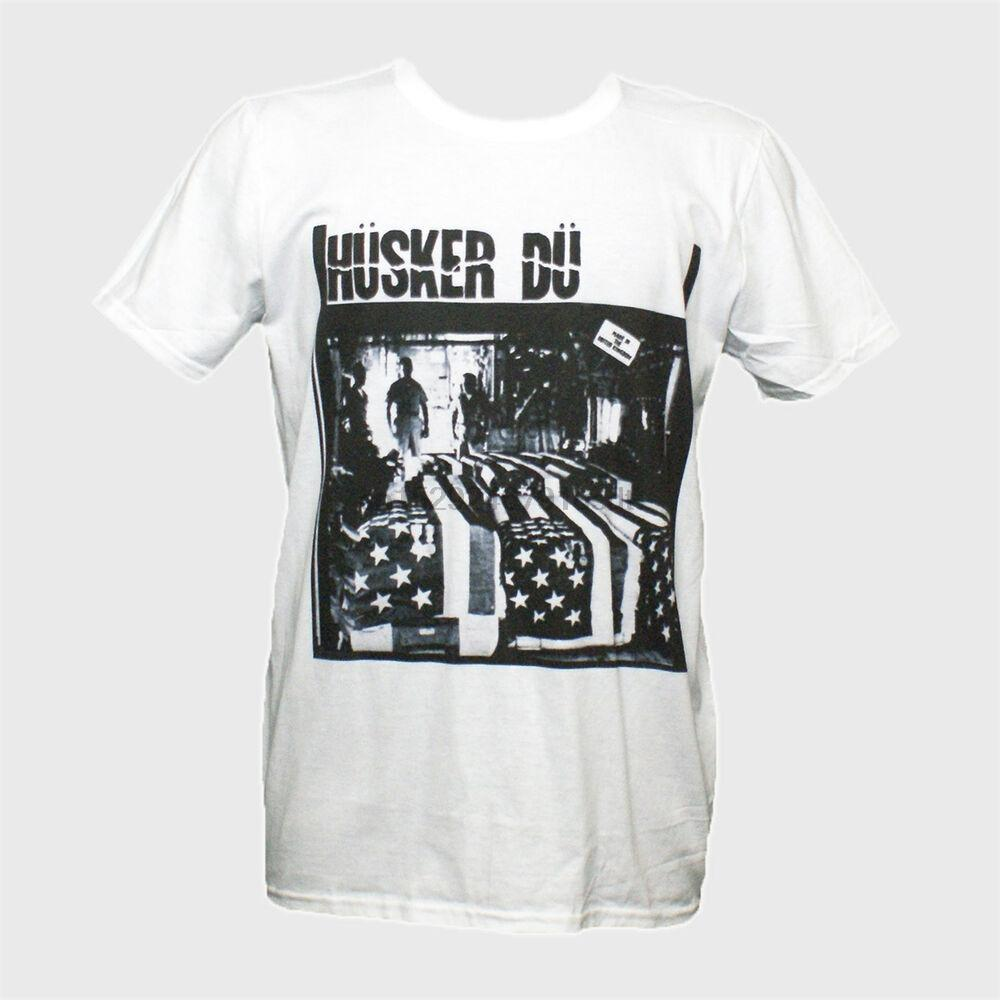 Husker Du Punk Rock Футболка Dinosaur Jr. Black Flag Bad Brains S-3XL