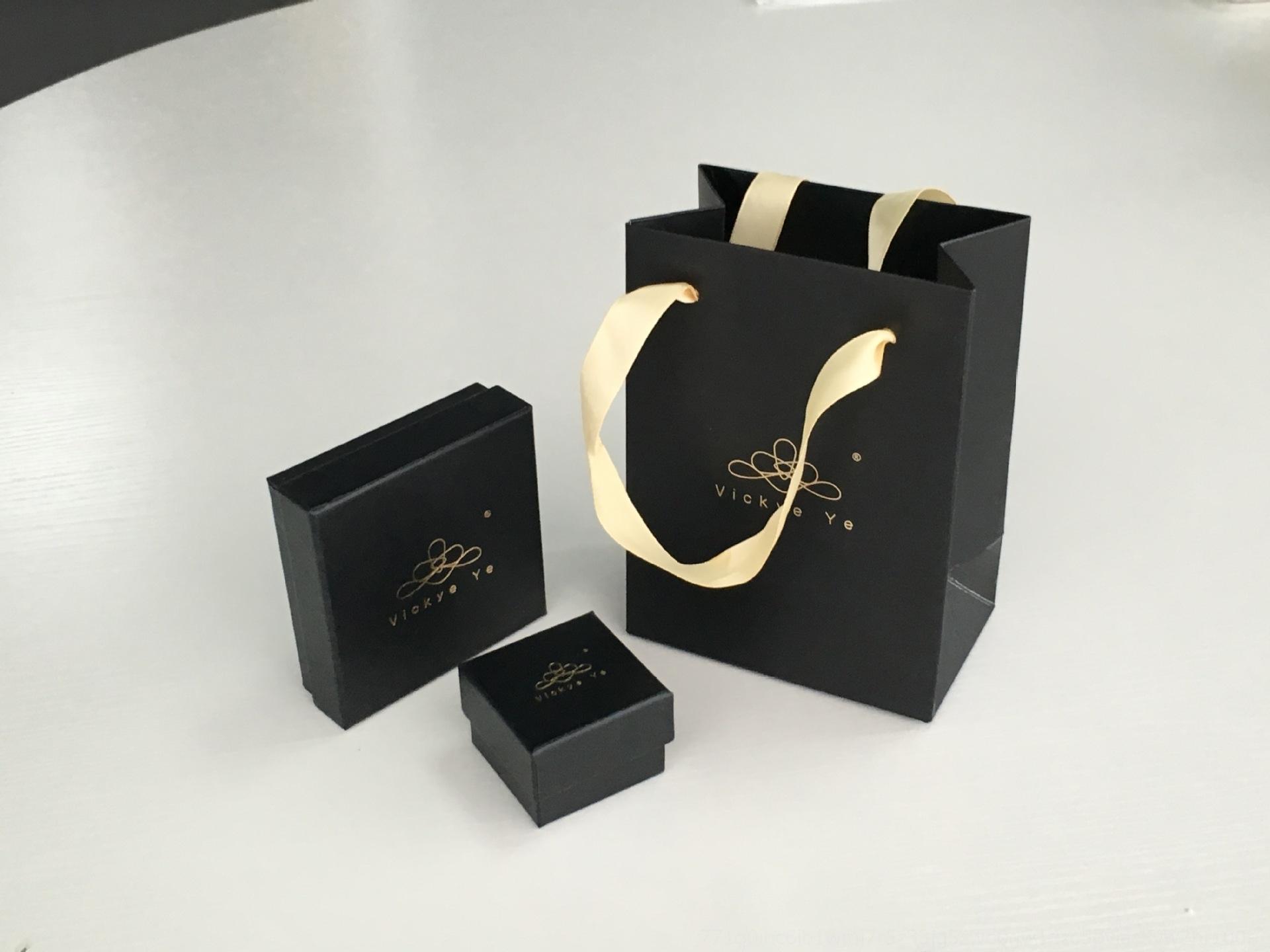celebridade Internet dom embalagem moda anel anel colar pulseira jóias caixa de presente caixa de colar bolsa EEOG3