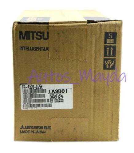 гарантия абсолютно новый Mitsubishi серводвигателя Инвертор Привод FR-A520-0.75K 1 год