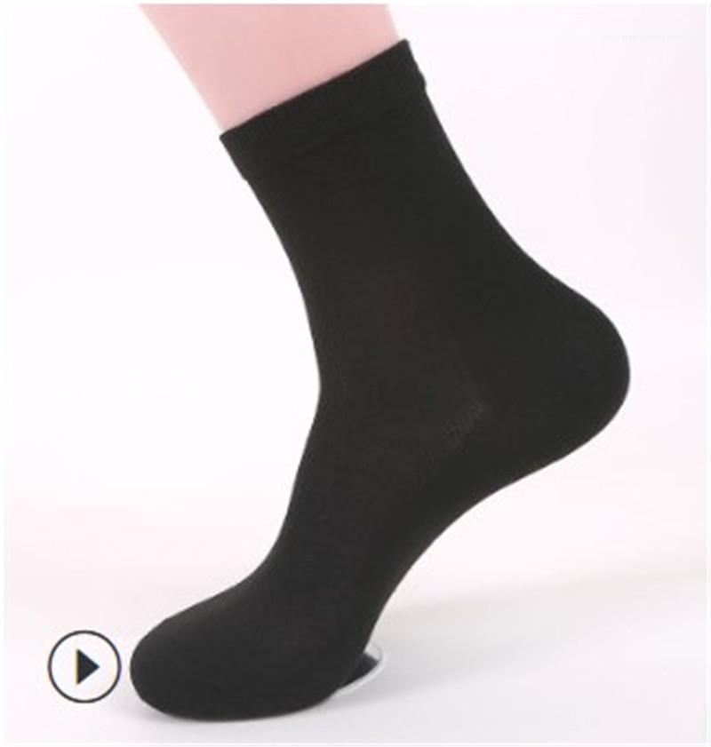 Meias Mens confortável e respirável roupa interior de algodão Mens Designer sólido meias cor do verão tornozelo comprimento Casual