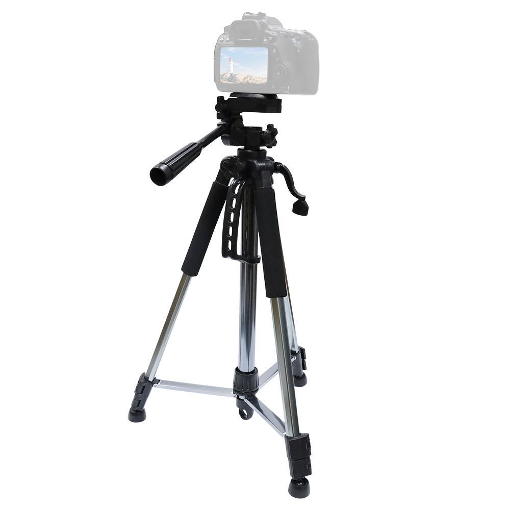 L-1200 trípode de cámara de Transmisión en Vivo Soporte para teléfonos móviles, cámaras, proyectores 55-148CM universal ajustable del trípode
