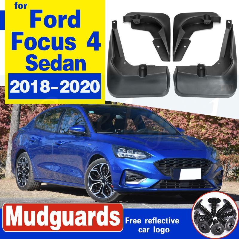 Auto-Schmutzfängern für Ford Focus 4 MK4 ST Sedan 2018 2019 2020 Kotflügel Spritzschutz Kotflügel Schmutzfänger Auto Vorne Hinten Zubehör