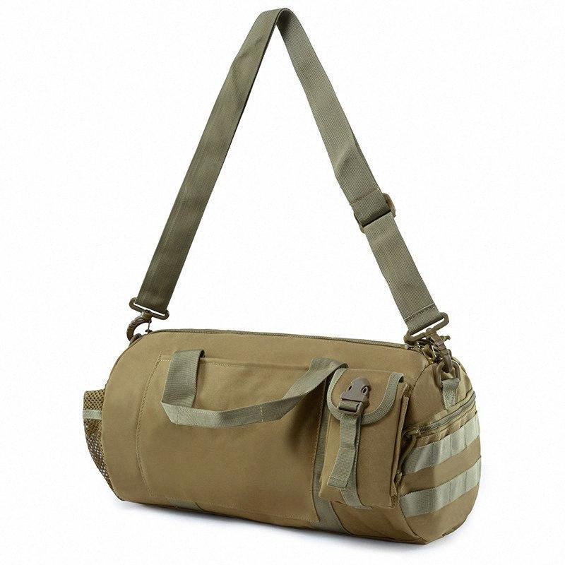20L al aire libre Morral táctico que acampa del bolso de mano bolsas de hombro táctico de Molle Bolsa de cintura Montañismo Viajes Deporte bolsa A7yo #