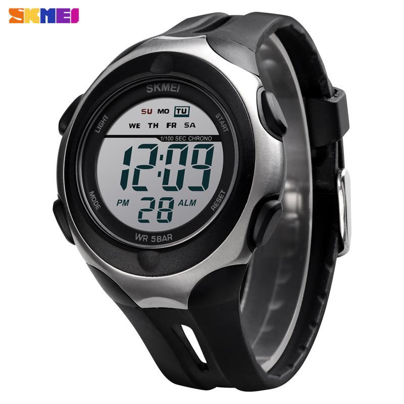 Men Sport Watch Waterproof Bracelet Stopwatch Chronograph Digital Wristwatch Luxury Back Light Led Electronic Watch Alarm Clock