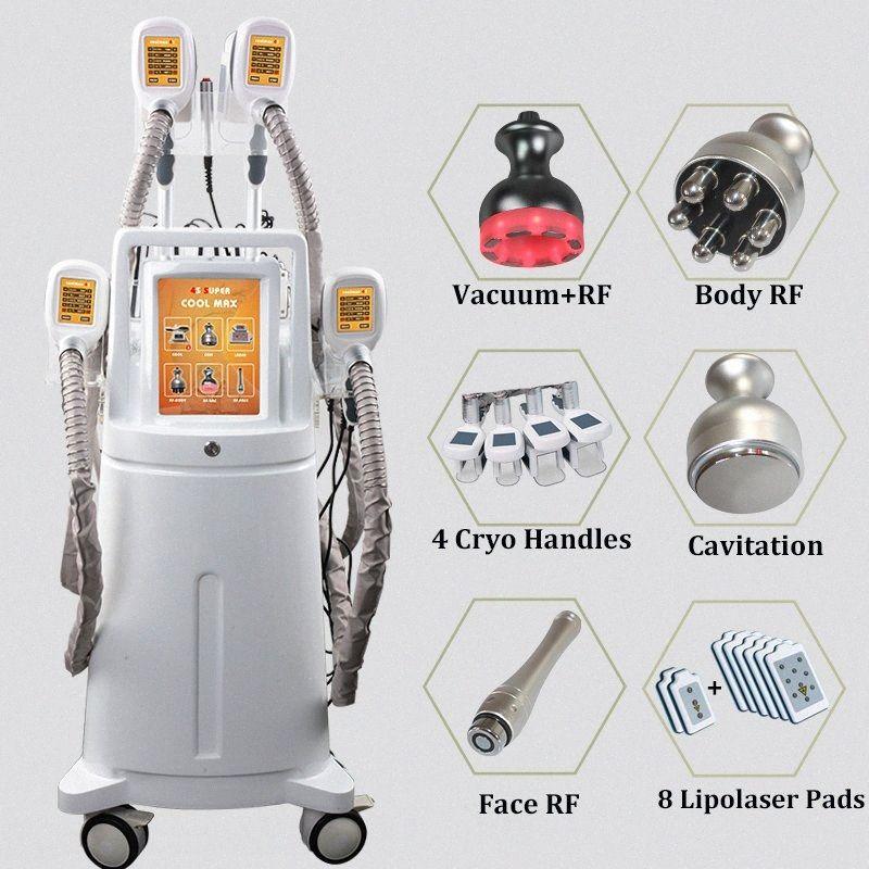 2019 Cryo Lipo Fat machine intelligente Laser Lipo Cryolipolysis traitement de la cellulite sur les cuisses Fesse GRAISSE Suppression magrir 1ztl #